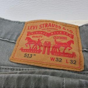 Levi's Jeans Strauss & Co. Men's 513 32 X 32